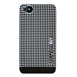Чехол Discovery Buy Chessboard для Apple iPhone 4/4S (черный, пластиковый)