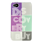 Чехол Discovery Buy Magic Universe Case для Apple iPhone 4/4S (фиолетовый, пластиковый)