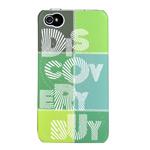 Чехол Discovery Buy Magic Universe Case для Apple iPhone 4/4S (зеленый, пластиковый)