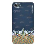 Чехол Discovery Buy Dragon Robe Case для Apple iPhone 4/4S (темно-синий, пластиковый)
