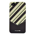 Чехол Discovery Buy Tie Matte Case для Apple iPhone 4/4S (темно-зеленый, пластиковый)