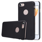 Чехол Nillkin Hard case для Apple iPhone 7 (черный, пластиковый)