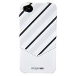 Чехол Discovery Buy Tie Matte Case для Apple iPhone 4/4S (белый, пластиковый)