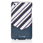 Чехол Discovery Buy Tie Matte Case для Apple iPod touch (4-th gen) (темно-синий, пластиковый)