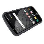 Чехол Yotrix Shockproof case для LG K5 (черный, пластиковый)