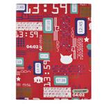 Чехол Discovery Buy Universal для Apple iPad 2/New iPad (красный, с рисунком)