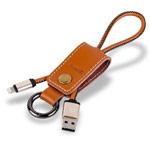 USB-кабель Remax Western Cable (Lightning, 0.2 м, кожаный, коричневый)
