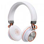 Беспроводные наушники Remax Bluetooth Headphone RB-195HB (белые, пульт/микрофон, 20-20000 Гц)