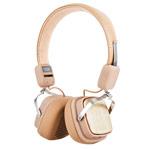 Беспроводные наушники Remax Bluetooth Headphone RB-200HB (бежевые, пульт/микрофон, 20-20000 Гц)