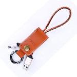 USB-кабель Remax Western Cable (microUSB, 0.2 м, кожаный, коричневый)