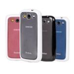 Чехол YooBao Protect case для Samsung Galaxy S3 i9300 (гелевый/пластиковый, голубой)