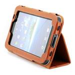Чехол YooBao Slim case для Samsung Galaxy Tab (кожанный, коричневый)