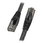 Ethernet-кабель Remax High-speed Network Cable универсальный (1 метр, армированный, черный)