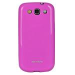 Чехол X-doria GelJacket case для Samsung Galaxy S3 i9300 (розовый, гелевый)