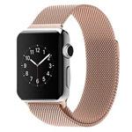 Ремешок для часов Synapse Milanese Loop для Apple Watch (38 мм, светло-золотистый, стальной)