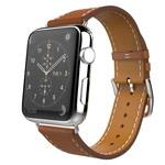 Ремешок для часов Synapse Single Tour Band для Apple Watch (38 мм, коричневый, кожаный)