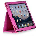 Чехол X-doria Dash Folio Denim case для Apple iPad 2/New iPad (розовый, кожанный)