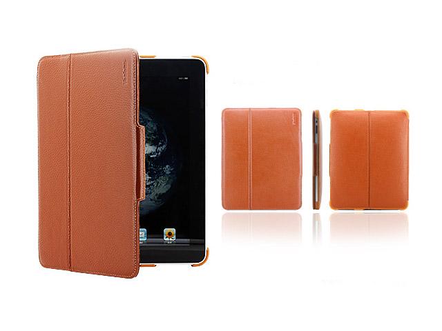 Чехол YooBao Magic case для Apple iPad (кожанный, коричневый)