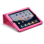 Чехол X-doria Dash Folio Lambskin case для Apple iPad 2/New iPad (розовый, кожанный)