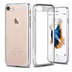 Чехол Comma Brightness case для Apple iPhone 7 (серебристый, пластиковый)