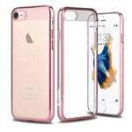 Чехол Comma Brightness case для Apple iPhone 7 (розово-золотистый, пластиковый)