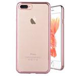 Чехол Devia Glimmer case для Apple iPhone 7 plus (розово-золотистый, пластиковый)