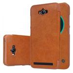 Чехол Nillkin Qin leather case для Asus Zenfone Max ZC550KL (коричневый, кожаный)