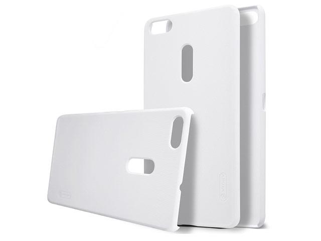 Чехол Nillkin Hard case для Asus Zenfone 3 Ultra ZU680KL (белый, пластиковый)
