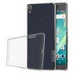 Чехол Nillkin Nature case для Sony Xperia XA ultra (серый, гелевый)