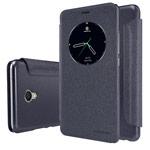 Чехол Nillkin Sparkle Leather Case для Meizu MX6 (темно-серый, винилискожа)