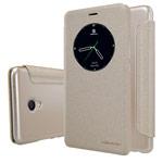 Чехол Nillkin Sparkle Leather Case для Meizu MX6 (золотистый, винилискожа)