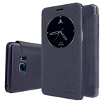 Чехол Nillkin Sparkle Leather Case для Samsung Galaxy Note 7 (темно-серый, винилискожа)