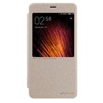 Чехол Nillkin Sparkle Leather Case для Xiaomi Redmi Pro (золотистый, винилискожа)