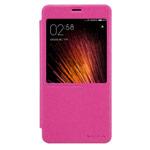 Чехол Nillkin Sparkle Leather Case для Xiaomi Redmi Pro (розовый, винилискожа)