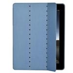 Чехол X-doria SmartStyle case для Apple iPad 2/New iPad (голубой, кожанный)