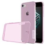 Чехол Nillkin Nature case для Apple iPhone 7 (розовый, гелевый)