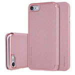Чехол Nillkin Sparkle Leather Case для Apple iPhone 7 (розово-золотистый, винилискожа)