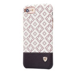Чехол Nillkin Oger Cover для Apple iPhone 7 (белый/коричневый, кожаный)