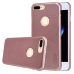 Чехол Nillkin Hard case для Apple iPhone 7 plus (розово-золотистый, пластиковый)