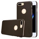 Чехол Nillkin Hard case для Apple iPhone 7 plus (коричневый, пластиковый)