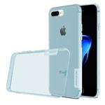 Чехол Nillkin Nature case для Apple iPhone 7 plus (голубой, гелевый)