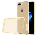 Чехол Nillkin Nature case для Apple iPhone 7 plus (золотистый, гелевый)