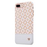 Чехол Nillkin Oger Cover для Apple iPhone 7 plus (белый, кожаный)