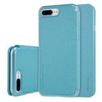 Чехол Nillkin Sparkle Leather Case для Apple iPhone 7 plus (голубой, винилискожа)
