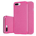 Чехол Nillkin Sparkle Leather Case для Apple iPhone 7 plus (розовый, винилискожа)