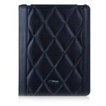 Чехол TS-Case Lattice Grain Case для Apple iPad 2/New iPad (черный, кожанный)
