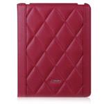 Чехол TS-Case Lattice Grain Case для Apple iPad 2/New iPad (красный, кожанный)