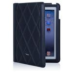 Чехол TS-Case Lattice Grain Case для Apple iPad 2/New iPad (коричневый, кожанный)