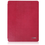 Чехол TS-Case Lizard Grain Case для Apple iPad 2/New iPad (красный, кожа ящерицы)