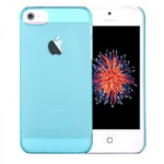 Чехол Devia Smart case для Apple iPhone SE (голубой, пластиковый)